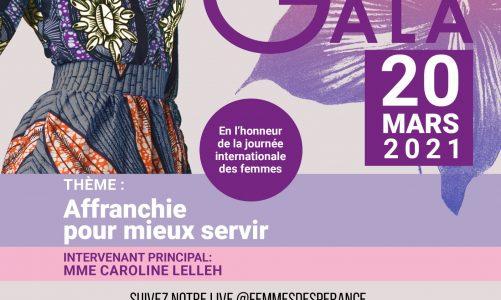 Invitation: Femmes d'Espérance Gala