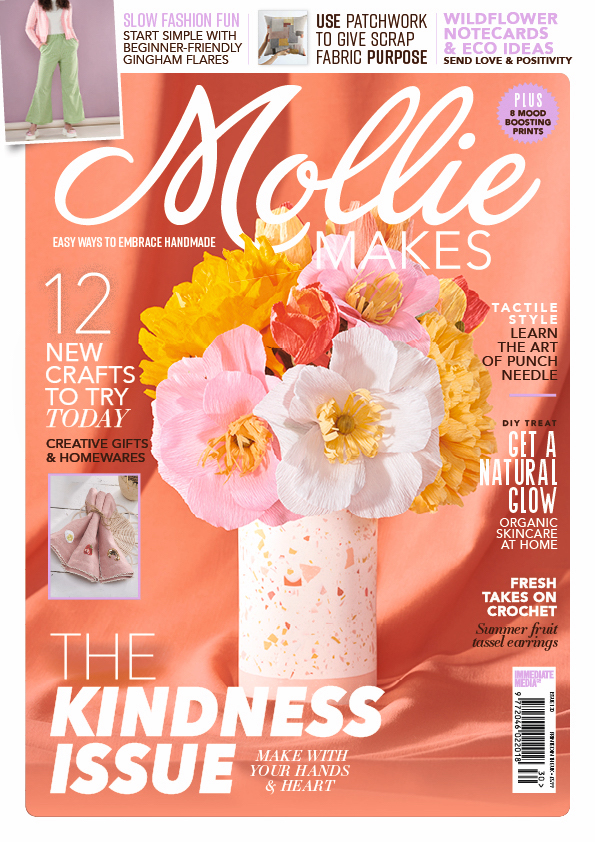 Mollie Makes Feature of Tammy Silver