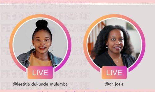 Invitation: Live with Laetitia Mulumba